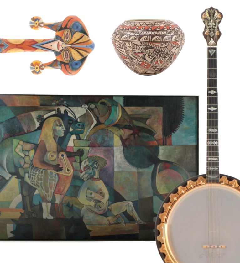Featured Collection: Chicago Artist, Author & Avid Collector