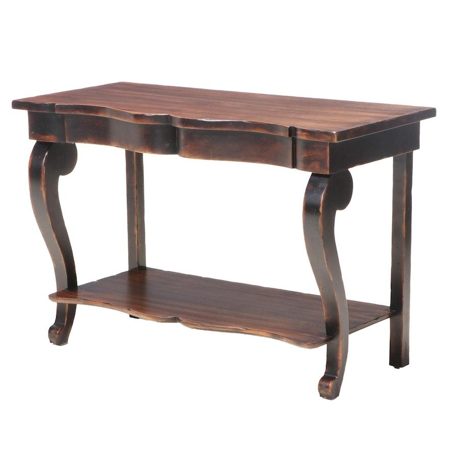 Empire Style Glaze Finished Side Table