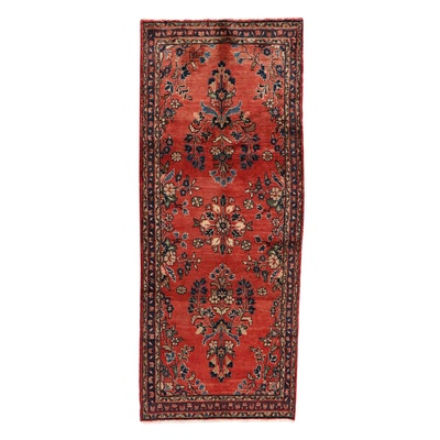 3'2 x 8'3 Hand-Knotted Persian Mehriban Long Rug