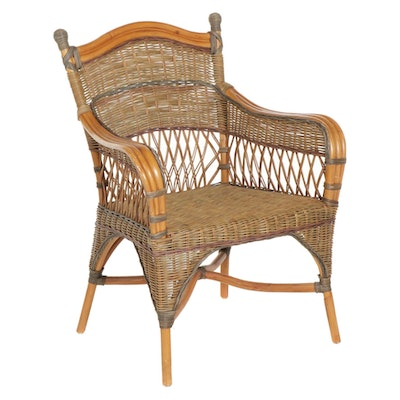 Lafko Designs Bentwood and Cane Armchair, Late 20th Century