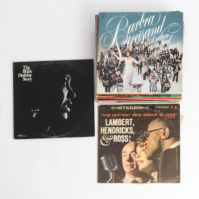 Billie Holiday, Barbra Streisand and Other Cabaret, R&B and Jazz Vinyl Records