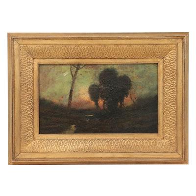 Tonalist Landscape Oil Painting