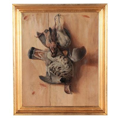 John Stone Still Life Oil Painting of Game Birds