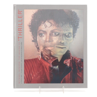 """Signed First Edition """"The Making of Thriller"""" by Douglas Kirkland, 2010"""