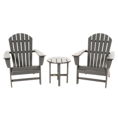 L.L. Bean Patio Chairs and Side Table