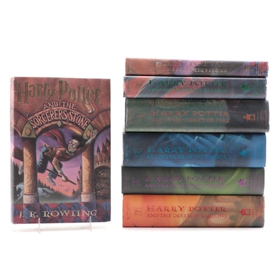 """Near Complete """"Harry Potter"""" Book Series Including First American Editions"""