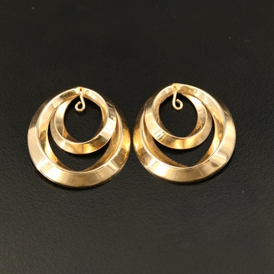 14K Looped Earring Enhancers