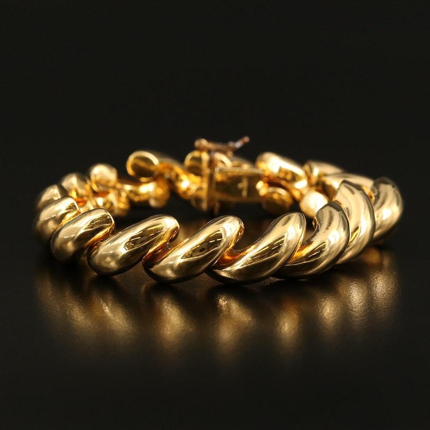 Sterling San Marco Chain Bracelet