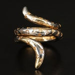 Louis Vuitton Coiled Serpent Ring