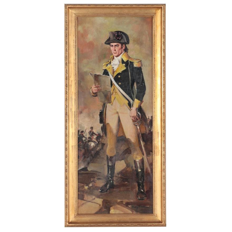 Henry Thomas Oil Painting of Revolutionary War General