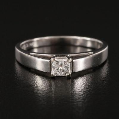 14K 0.24 CT Diamond Solitaire Ring