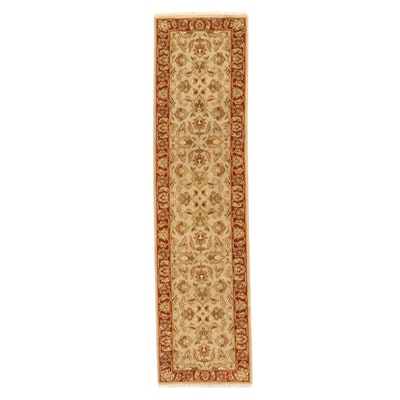 2'5 x 10'2 Hand-Knotted Indian Mahal Carpet Runner