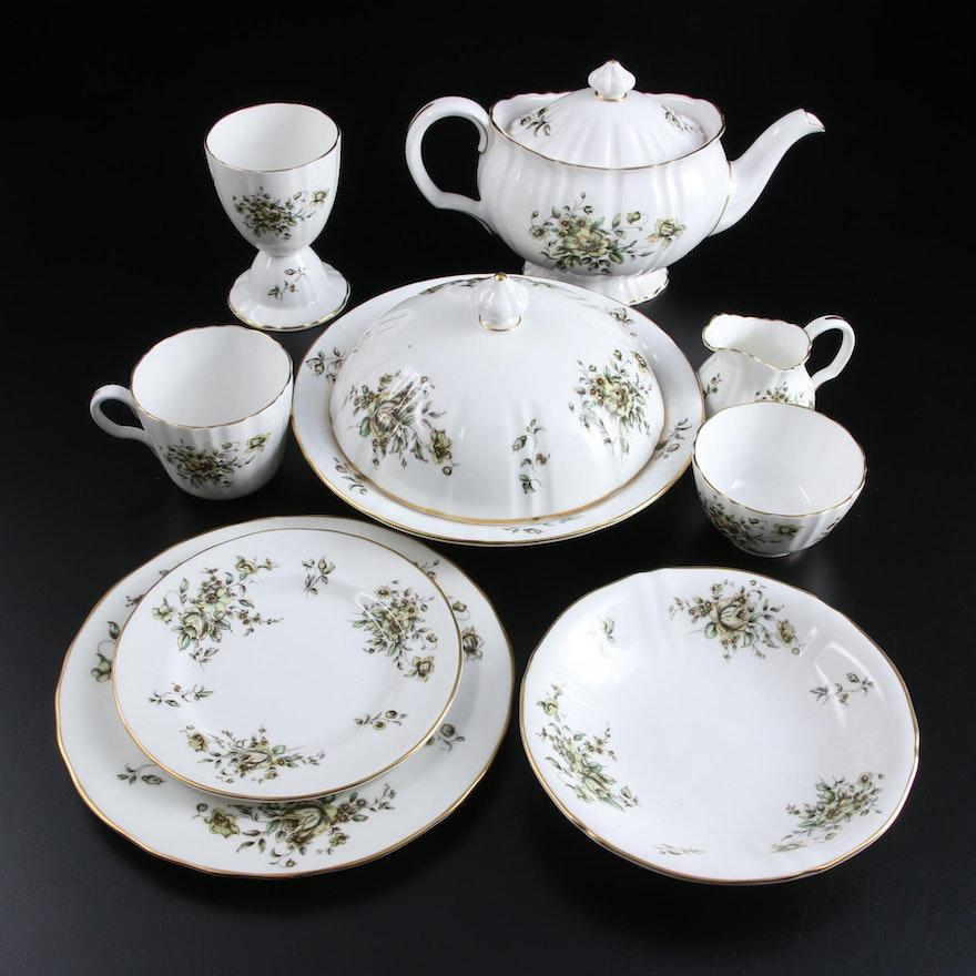 "Royal Worcester ""Clementine"" Bone China Serveware, 1958–1961"