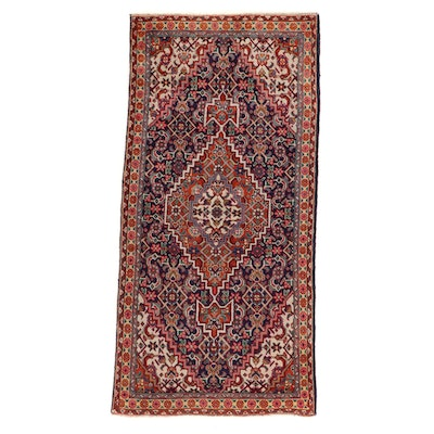 3'4 x 6'7 Hand-Knotted Persian Tabriz Area Rug