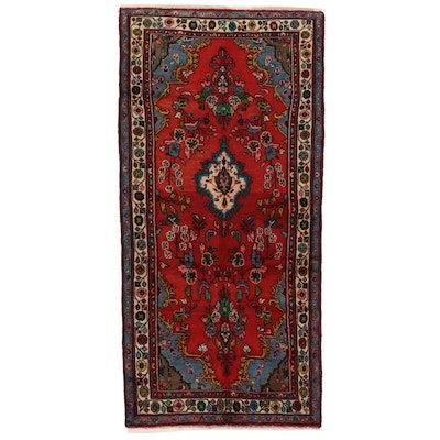 3'4 x 6'11 Hand-Knotted Persian Mehriban Area Rug