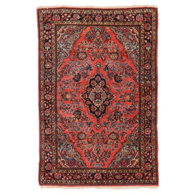 3'4 x 5'2 Hand-Knotted Persian Mehriban Area Rug