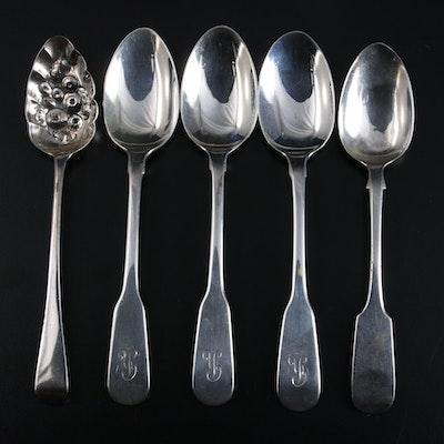 George Sangster of Edinburgh Sterling Silver Teaspoon and More