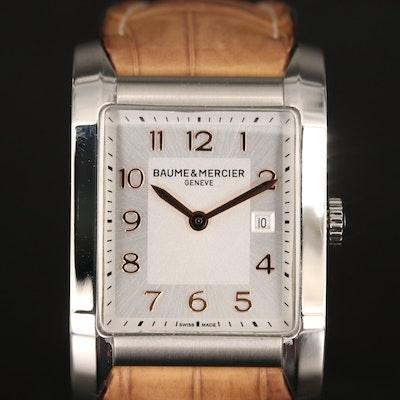 Baume & Mercier Hampton Stainless Steel Quartz Wristwatch