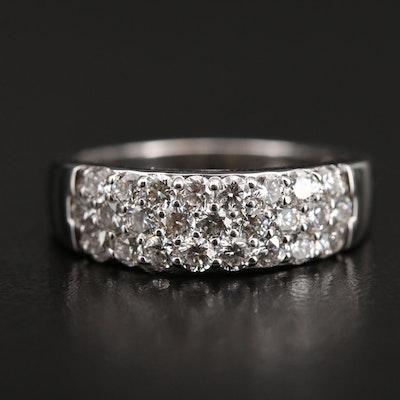 18K 1.00 CTW Diamond Ring
