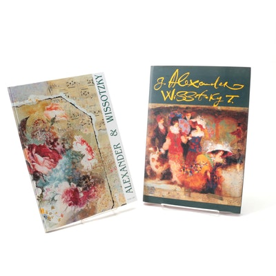 Alexander Galtchansky and Tanya Wissotzky Art Books, Late 20th Century