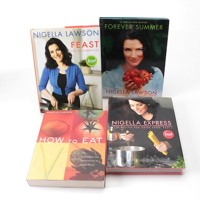 """First Edition """"Feast: Food to Celebrate Life"""" and More by Nigella Lawson"""