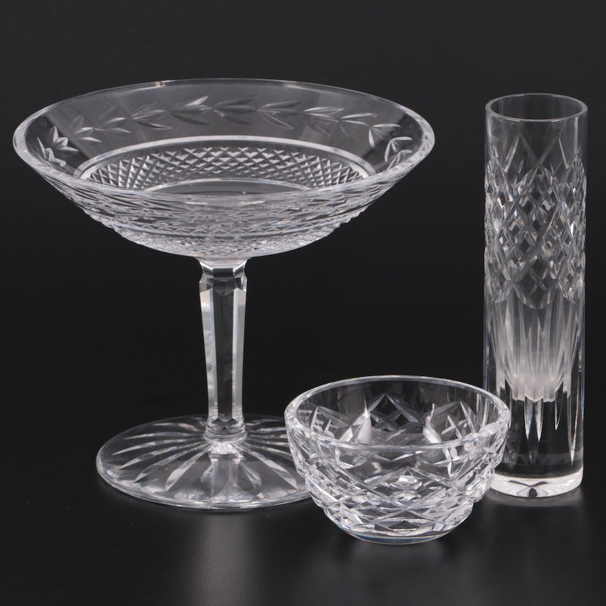 """Waterford """"Glandore"""" Crystal Compote and More"""