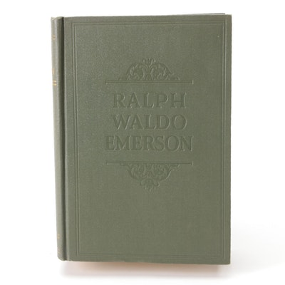 """""""The Complete Writings of Ralph Waldo Emerson,"""" 1929"""