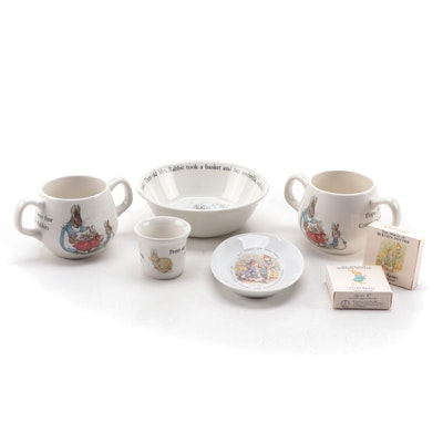 "Wedgwood ""Peter Rabbit""  Children's Tableware and Bathroom Set"