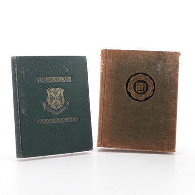 Queen's University and Cornell University Yearbooks, 1930 and 1935