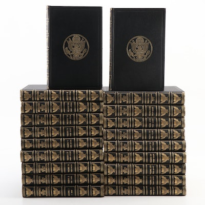 """""""Messages and Paper of the Presidents"""" Twenty-Volume Set, c. 1897–1917"""