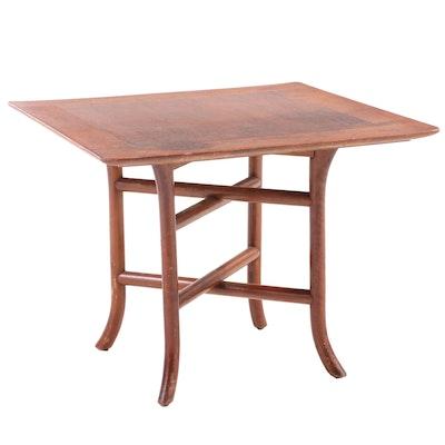 T.H. Robsjohn-Gibbings for Widdicomb Mid Century Modern Walnut Side Table