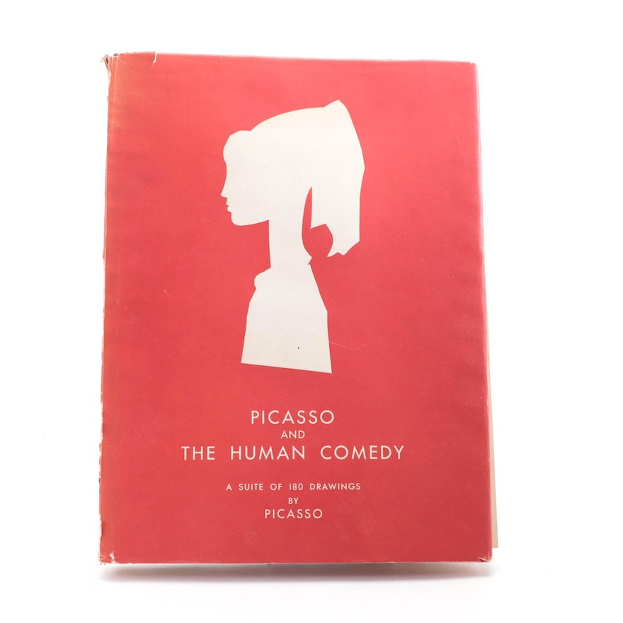 """""""Picasso and the Human Comedy"""" by Michel Leiris, 1954"""