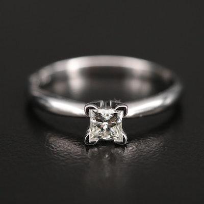 14K 0.36 CT Diamond Solitaire Ring