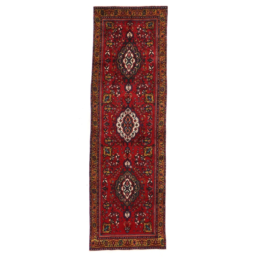3'6 x 11'4 Hand-Knotted Persian Tabriz Long Rug