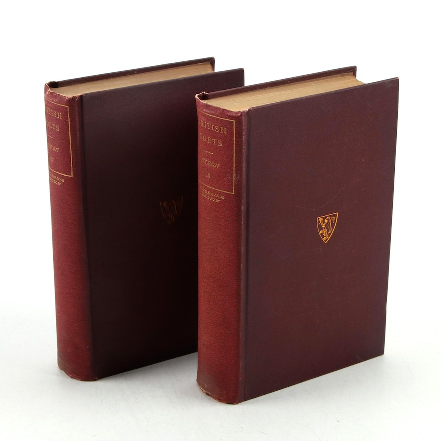 """""""The Poetical Works of Lord Byron"""" Partial Set, Early 20th Century"""