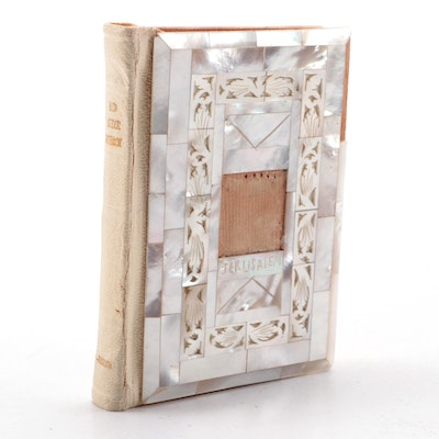 The Red Letter New Testament with Mother-of-Pearl Decorated Boards