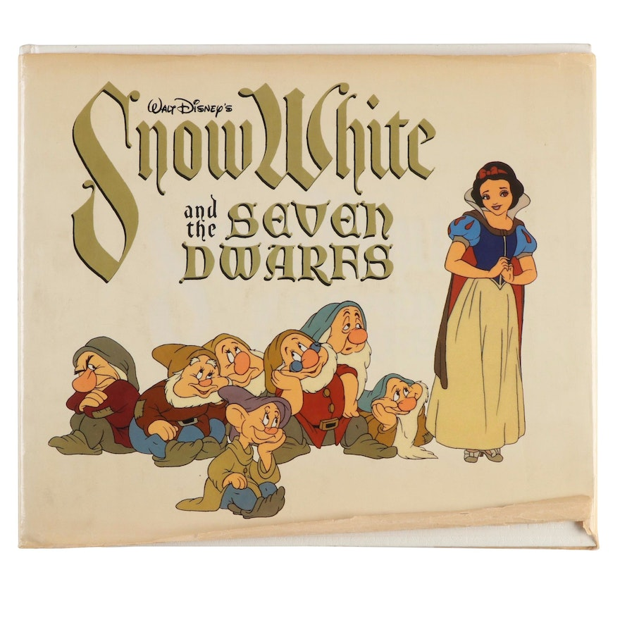 """First Trade Edition """"Snow White and the Seven Dwarfs"""" Studio Book, 1979"""
