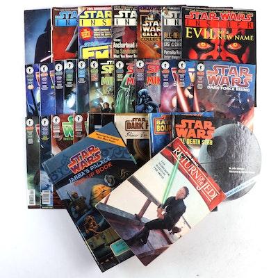 """Star Wars"" Comics, Magazines, and Pop-Up Books, 1980 - 2001"