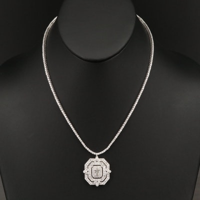 14K 7.00 CTW Diamond Necklace