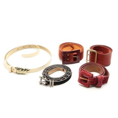 Talbots Suede Leather Belt and Other Belts