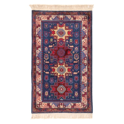 3' x 5'3 Hand-Knotted Sino Persian Ardebil Rug, 2000s