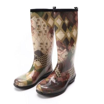 Kamik Abstract Print Rain Boots