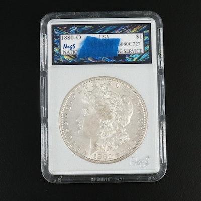 Better Date 1880-O Morgan Silver Dollar