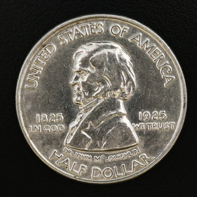 1925 Fort Vancouver Bicentennial Silver Half Dollar
