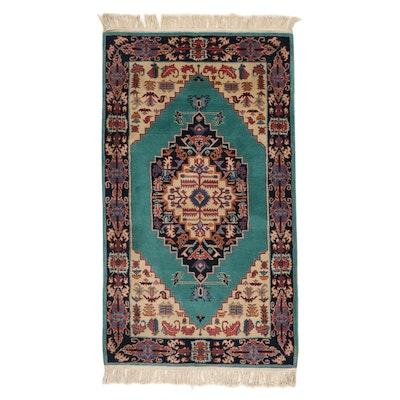 3' x 5'9 Hand-Knotted Sino-Persian Bijar Rug, 2000s