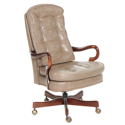 Faux Leather Upholstered Office Chair