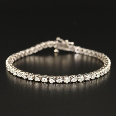 14K 2.58 CTW Diamond Line Bracelet