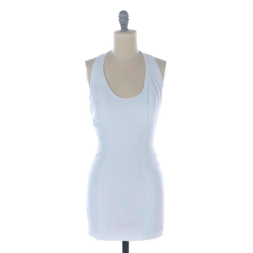 Nicole Miller for Caché Open-Back Mini Dress