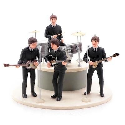 "Hallmark Keepsake ""30th Anniversary of the Beatles Debut in America"" Ornaments"