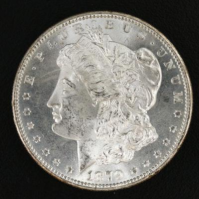 Better Date Uncirculated 1879-S 2nd Reverse Morgan Silver Dollar